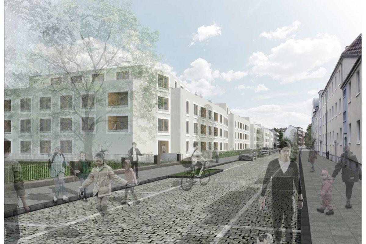 Wohnbebauung</br>Mannsfelder Straße